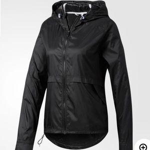 Adidas Clear Goals Black Jacket Light Zip Up